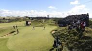 Das Grün steckt bei den British Open voller Tücken
