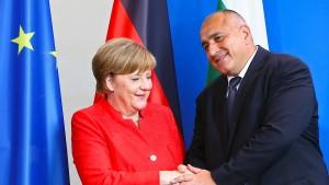 Merkel spricht sich für Beitritt Bulgariens aus