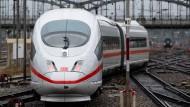 Der ICE-Sprinter schafft die Strecke zwischen München und Berlin in knapp vier Stunden.