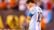 Messi verschießt Elfmeter, Argentinien verliert