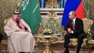 Russland glaubt Saudi-Arabien im Fall Khashoggi