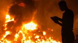 Pipeline-Explosion in Nigeria