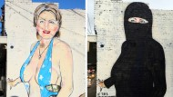 Hillary Clinton trägt jetzt Nikab statt Badeanzug