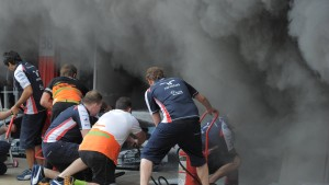 Monaco-Start trotz Feuerschäden
