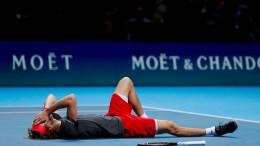 Tennisprofi Alexander Zverev gewinnt ATP-WM in London