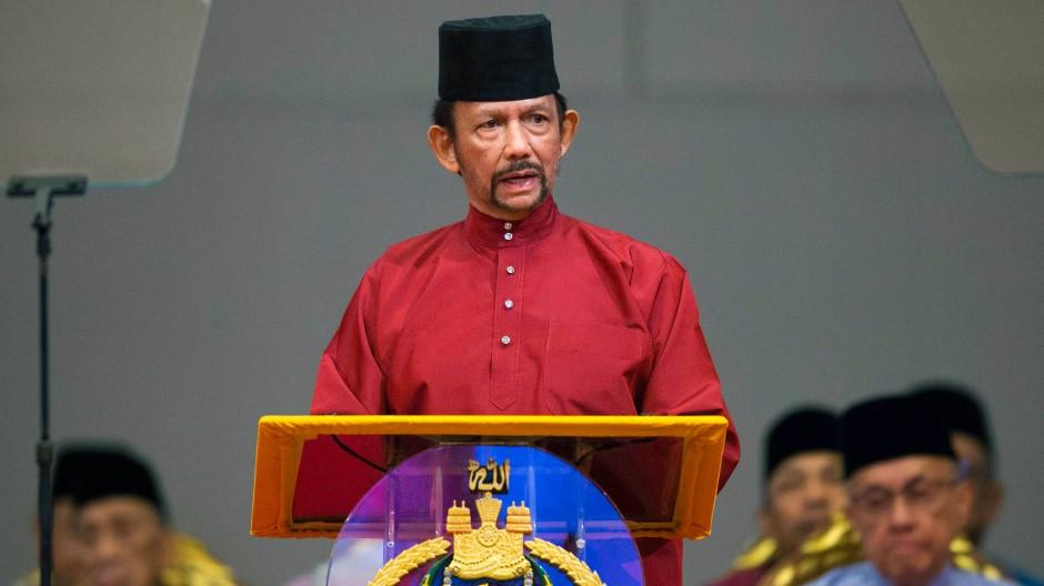 Brunei führt Todesstrafe für gleichgeschlechtlichen Sex ein