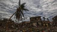 Die Stadt Jeremie im Westen Haitis war der vollen Stärke des Kategorie-4-Hurrikans ausgesetzt.
