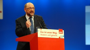 Schulz will Vereinigte Staaten von Europa bis 2025