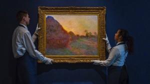 Monet für 111 Millionen Dollar versteigert