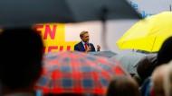 Vizekanzler oder Oppositionsführer? Möglicherweise hat FDP-Chef Christian Lindner am Sonntagabend die Qual der Wahl.