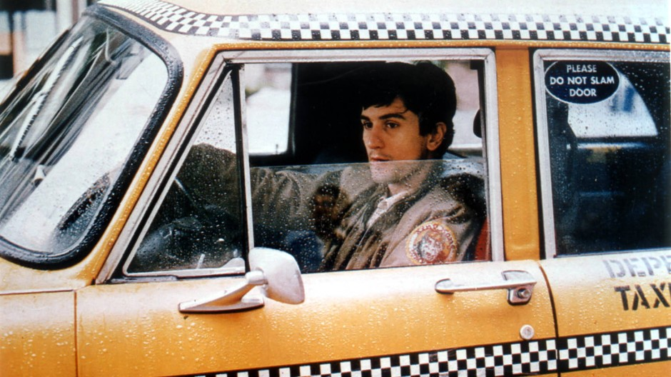 """Redest du mit mir? Du laberst mich an?"" Robert De Niro als Travis Bickle in Martin Scorseses ""Taxi Driver"" (1976)"