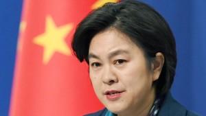 China: Amerikas Anschuldigungen sind ungerechtfertigt