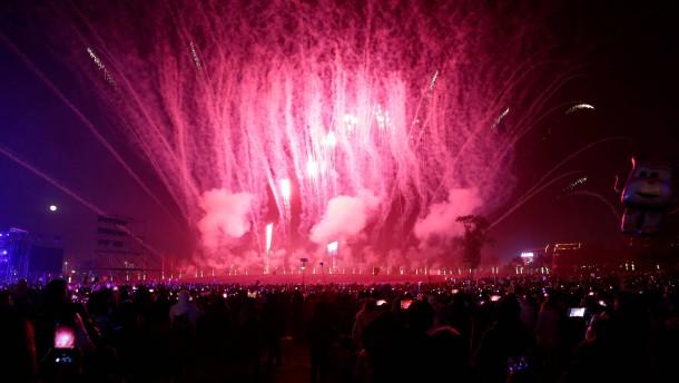 So feiert die Welt ins neue Jahr