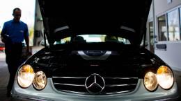 Daimler wird von Diesel-Affäre getroffen
