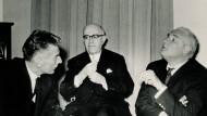 Adorno, Beckett, Korn: Eine Séance im Hause Unseld
