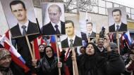 Mit Putin und Assad
