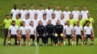 22 von 23 Nationalspielern sind in Deutschland geboren