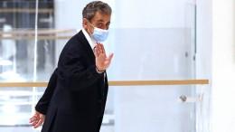 Korruptionsprozess gegen Sarkozy unterbrochen