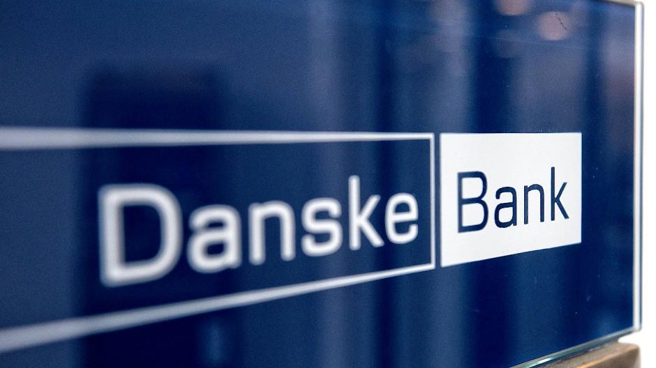 Das Logo der Danske Bank