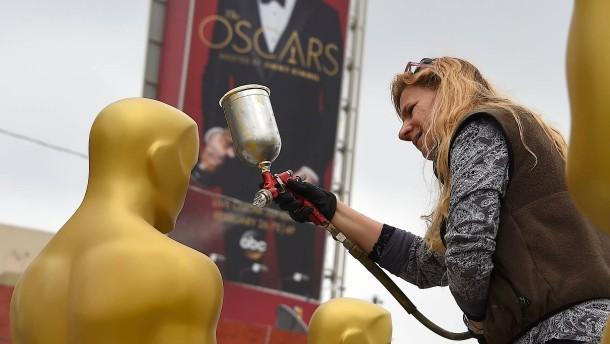 Vorbereitungen für Oscar-Verleihung auf Hochtouren