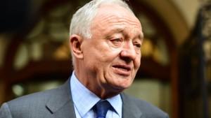 Ken Livingstone aus Labour Partei ausgeschlossen