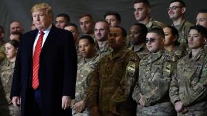 Trump will Truppen aus Afghanistan und Irak abziehen
