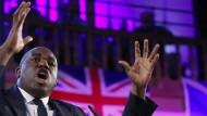 David Lammy kämpft mit drastischer Sprache ein zweites Brexit-Referendum.