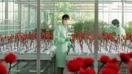 """Im Reich der Antistresshormone: Diese Blumen können das Mutter-Kind-Verhältnis verbessern. Szene aus Jessica Hausners Film """"Little Joe"""""""