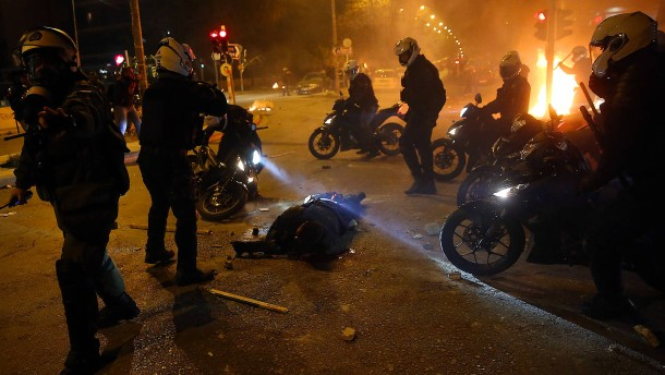 Ausschreitungen bei Protest gegen Polizeigewalt
