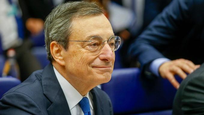 EZB-Chef Mario Draghi am Mittwoch in Luxemburg