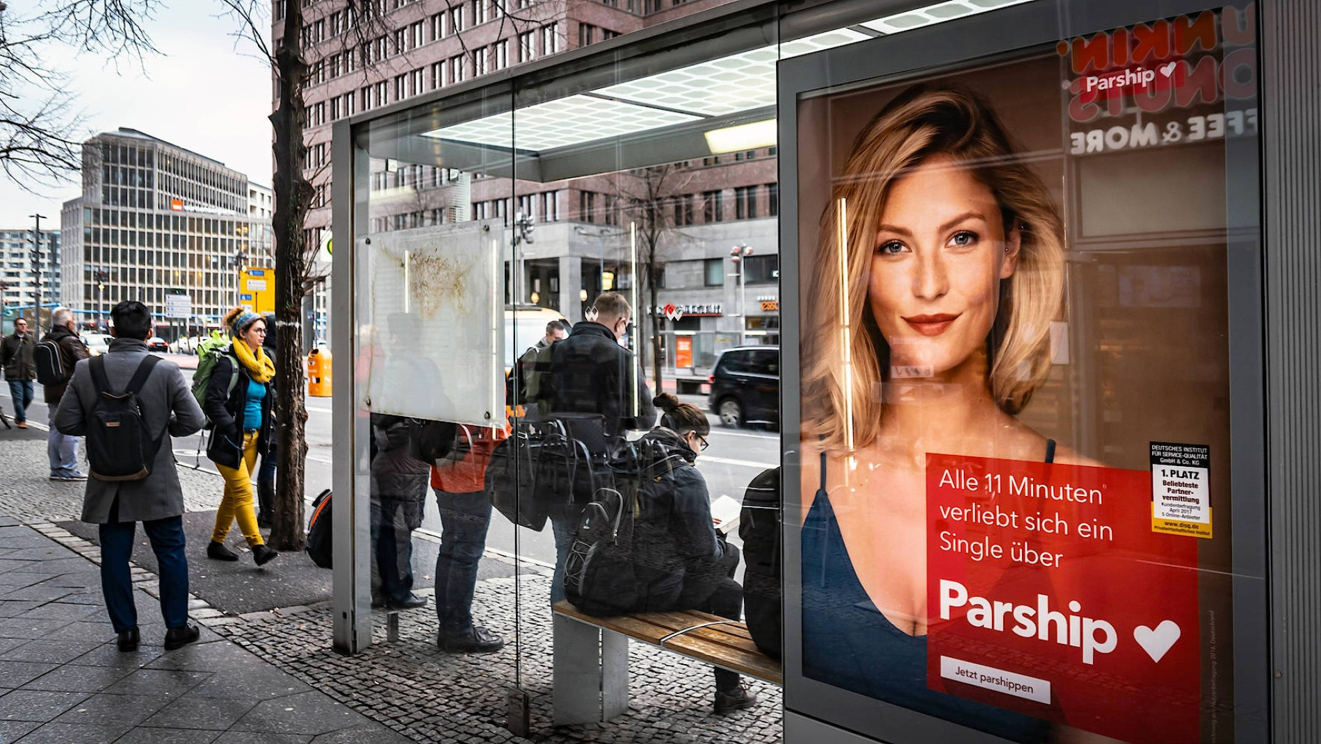 Werbung 2017 model parship Parship Werbung