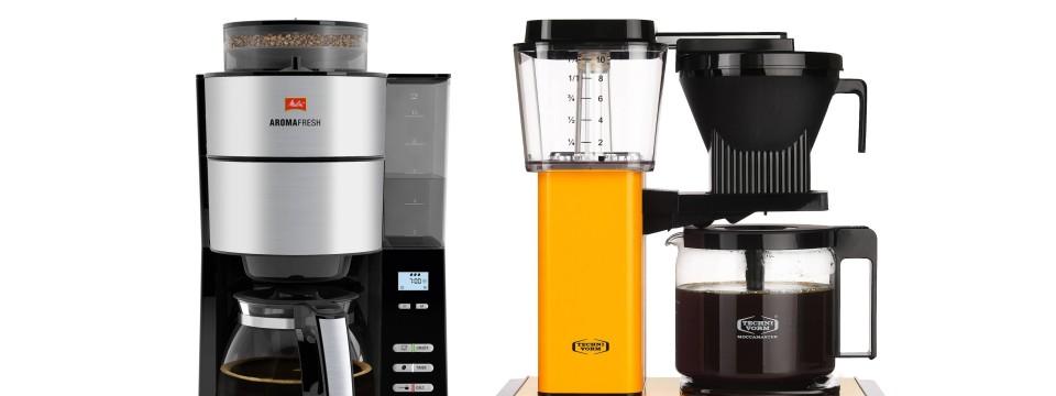 welche kaffeemaschine kaufen zwei kaffeemaschinen im test. Black Bedroom Furniture Sets. Home Design Ideas