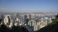 Hätten Sie sie erkannt? Die Skyline von Hongkong, einer der teuersten Großstädte der Welt