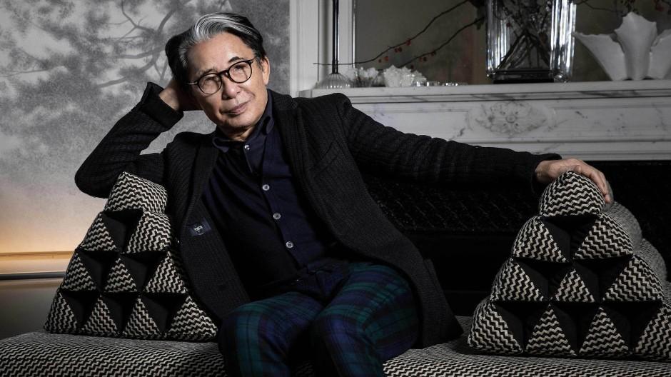Kenzo Takada hatte als erster japanischer Designer in Paris Erfolg. Im Alter von 26 Jahren war er 1965 mit einem Frachtschiff nach Marseille gekommen.