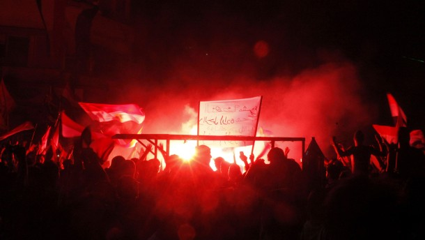 Anti-Mursi Feuer Cairo