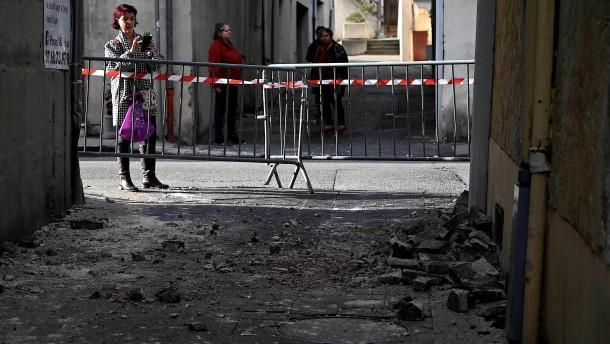 Mehrere Verletzte bei Erdbeben der Stärke 5,4