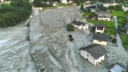 Augenzeuge berichtet von Bergrutsch in der Schweiz