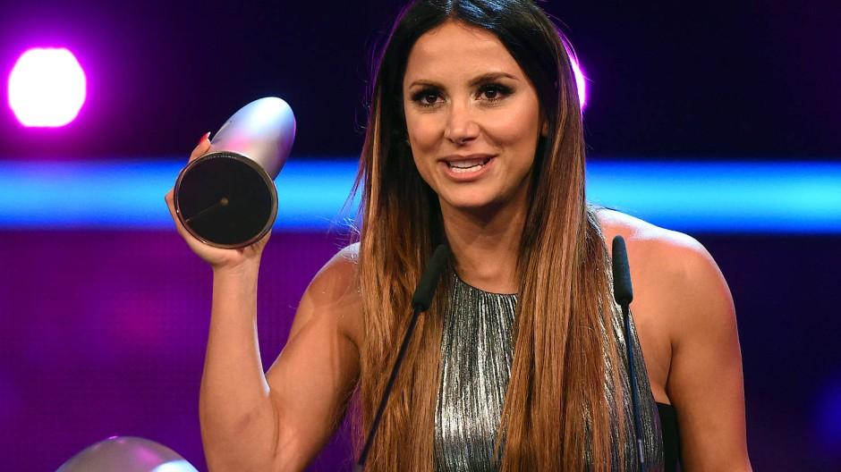 Hat jetzt eine Diskussion ausgelöst: Enissa Amani 2015 bei der Verleihung des Deutschen Comedypreises