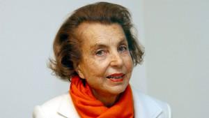 L'Oreal-Erbin Liliane Bettencourt gestorben