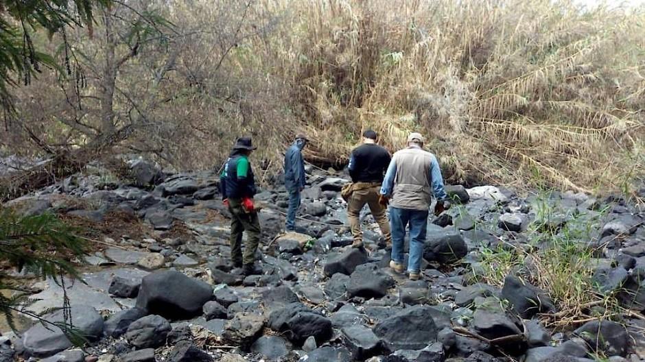 Mitarbeiter der Behörde für die Suche nach verschwundenen Personen in Salvatierra, Mexiko