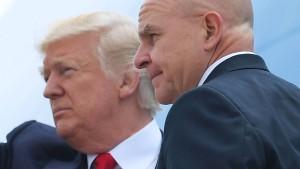 Trumps Sicherheitsberater wohl vor Rauswurf