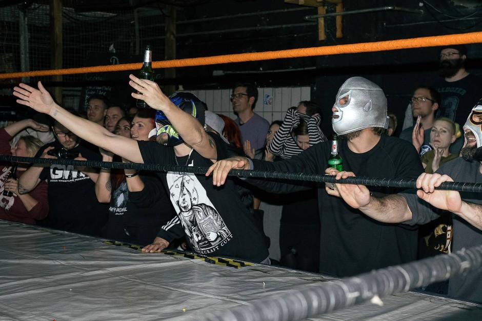 Die Masken stammen ursprünglich aus der mexikanischen Wrestling-Szene.