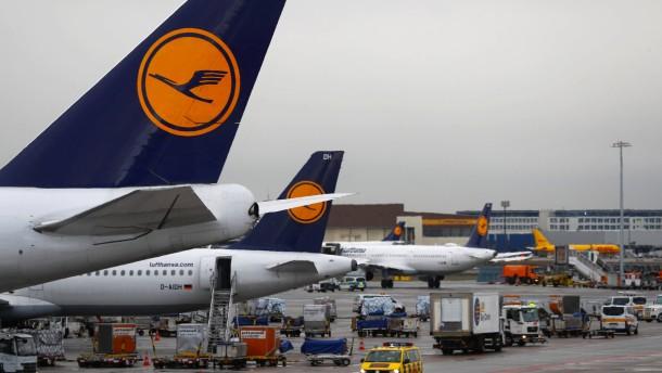 Verzögerungen und Ausfälle am Frankfurter Flughafen