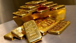 Alle setzen auf Gold