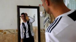 Ronaldo-Doppelgänger in Irak