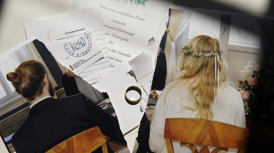 Ehen ohne Vertrag sind wie Autofahrten ohne Sicherheitsgurt, sagt Volker Looman.