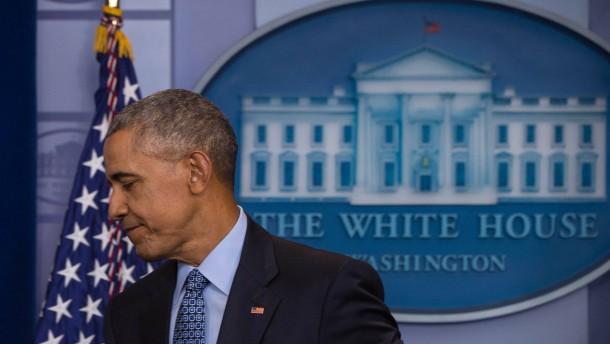 Obamas letzter Arbeitstag - ist heute!
