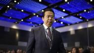 Nur ein Frühstücksdirektor? Der zurückgetretene Präsident von Interpol, Meng Hongwei, im Juli vergangenen Jahres.