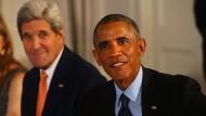 Präsident Obama trifft arabische Verbündeten