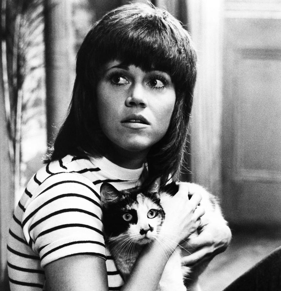 """Dafür bekam sie erst eine Katze und dann einen Oscar: Jane Fonda 1971 in Alan J. Pakulas """"Klute"""""""